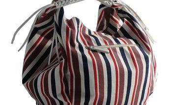 Dámská taška Red Hot černo-červeno-bílá