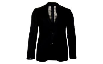 Pánske čierne sako Roberto Verino