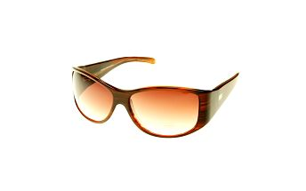 Dámske hnedé žíhané slnečné okuliare Axcent