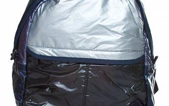 Černo-stříbrný batoh Benetton