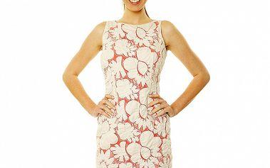 Dámske letné šaty v štýle Romy Schneider Roberto Verino