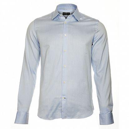 Pánská světle modrá košile Roberto Verino