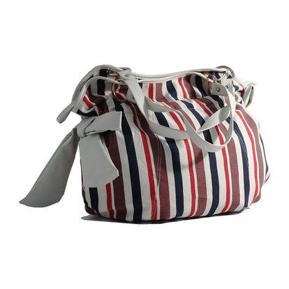 Dámská kabelka Red Hot černo-červeno-bílá