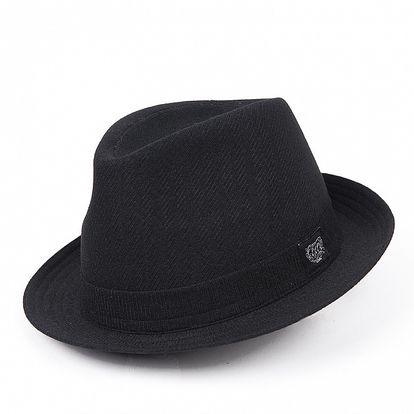 Pánský černý klobouk Chico