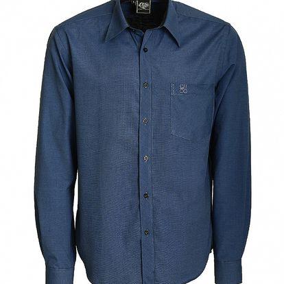 Pánska temne modrá košeľa Chico