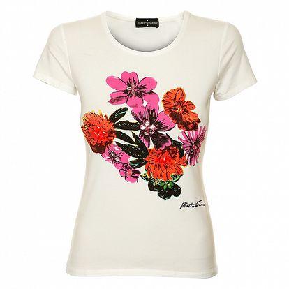 Dámske tričko s farebnou potlačou Roberto Verino