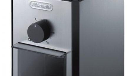 Profesionální kávomlýnek DeLonghi KG 89 s možností nastavení hrubosti mletí