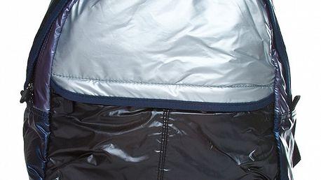 Čierno-strieborný batoh Benetton