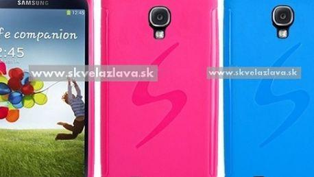 Obal S Line z odolného a pružného TPU materiálu určený pre Samsung Galaxy S4 v piatich farbách za 4,10 € aj s poštovným.