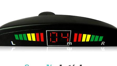Parkovací asistent s LED displejem a zvukovou signalizací!