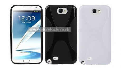 Obal z odolného a pružného TPU materiálu určený pre Samsung Galaxy Note II / N7100 v ôsmich farbách za 4,10 € aj s poštovným.