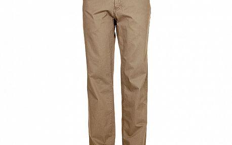 Pánske béžové nohavice rovného strihu Robeerto Verino