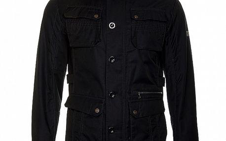 Pánská černá jarní bunda Roberto Verino