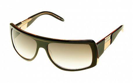 Dámské černohnědé sluneční brýle Axcent s kovovými detaily