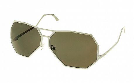 Dámské bílé sluneční brýle Axcent