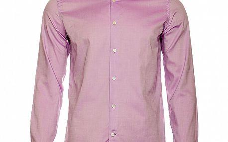 Pánska svetlo fialová košeľa Roberto Verino