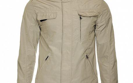 Pánská béžová jarní bunda Roberto Verino