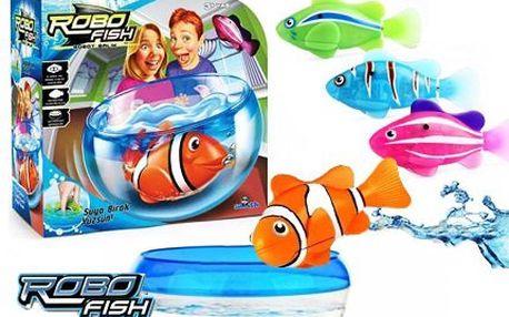 Roztomilá robotická rybka pro děti i dospělé!