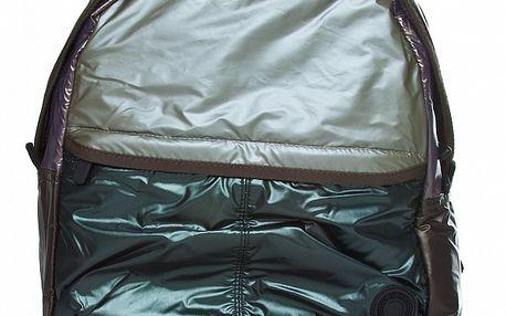 Hnedo-zelený batoh Benetton