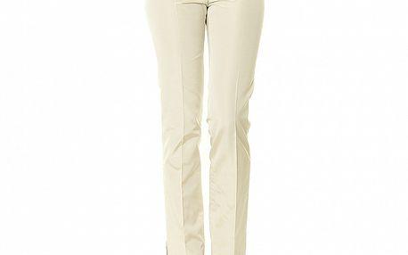 Dámské béžové kalhoty s puky Roberto Verino