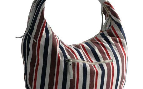 Dámská taška přes rameno Red Hot černo-červeno-bílá