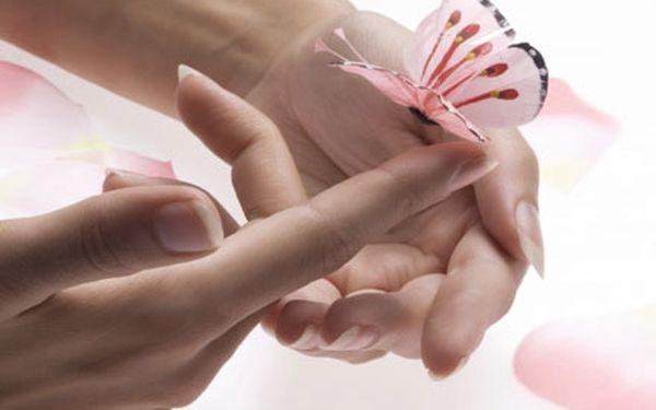 Profesionální péče o ruce a nehty s manikúrou, pee...