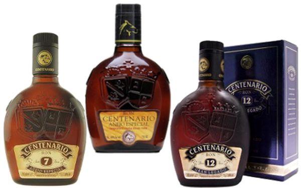 Láhev kvalitního rumu Centenario od 349 Kč!