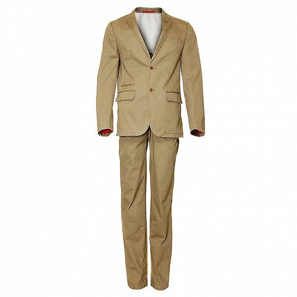 Pánsky béžový oblek Roberto Verino