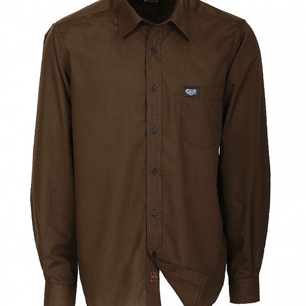 Pánska hnedá košeľa Chico