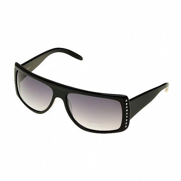 Dámské černé sluneční brýle Axcent s kamínky