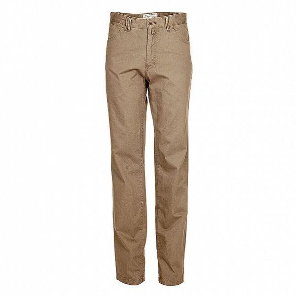 Pánské béžové kalhoty rovného střihu Robeerto Verino