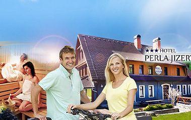 TŘÍDENNÍ relax a romantika pro DVA v hotelu PERLA JIZERY*** v Jizerských horách jen za 2899 Kč! V ceně POLOPENZE a 2 hodiny finské nebo ruské SAUNY s LAHVÍ SEKTU! Odpočiňte si a dobijte síly v příjemném prostředí!