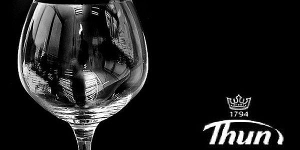 Sada šesti skleniček z kolekce CONCERTO od karlovarského výrobce porcelánu Thun a.s.