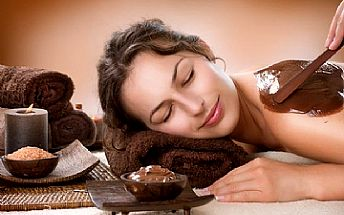 Relaxační čokoládová masáž zad a šíje se zábalem