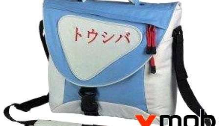 Batoh přes rameno Dicota Toshiba Messenger Bac Blue Sky pro notebooky do rozměru 15,6''