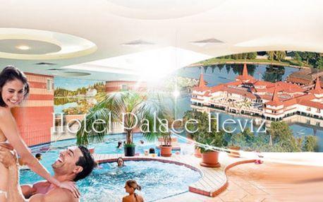 Wellness a relaxácia pri termálnom jazere Héviz v Maďarsku! 5 dní pre 2 osoby v luxusne zariadenej izbe, bohatá POLPENZIA + používanie hotelovej WELLNESS oázy s whirpool a fínskou saunou len za 345 Eur! Platnosť voucheru 1 rok!