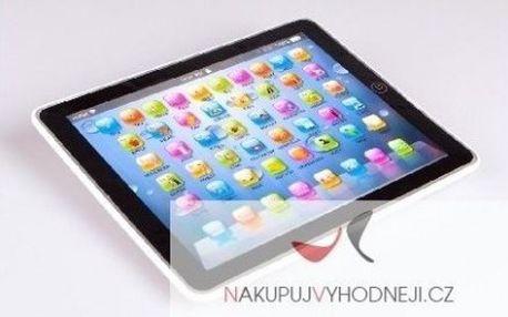 Krásný dětský tablet, který vaše děti naučí angličtinu, jen za 299 Kč včetně dopravy! Vyučuje anglická čísla, abecedu, slova, hraje. Vše v anglickém jazyce.