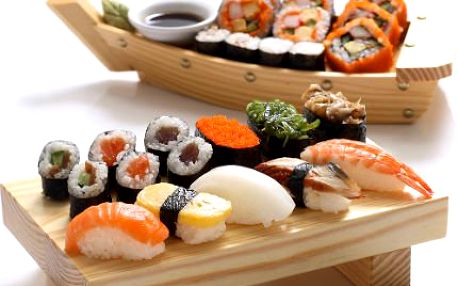 Dárkový poukaz v hodnotě 500 Kč na japonskou kuchyni