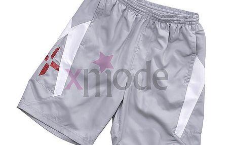 Sportovní pánské kraťasy Umbro Silver/White
