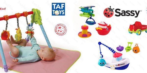 Hračky Sassy a Taf Toys pro interaktivní zábavu