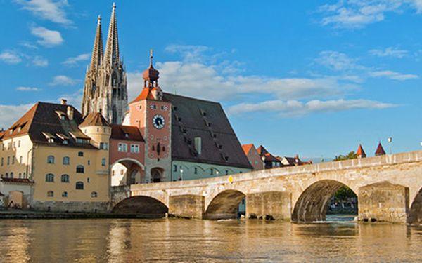 Výlet za památkami UNESCO do Regensburgu