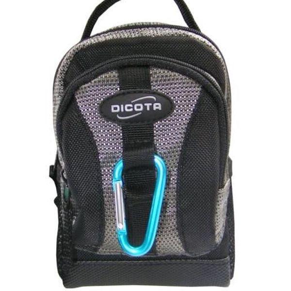 Dicota ActivPac Silver - mini batoh na foťák, mobilní telefon a další drobné nezbytnosti