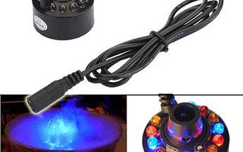 Zvlhčovač vzduchu s LED podsvícením, který tvoří barevnou mlhu a poštovné ZDARMA! - 101