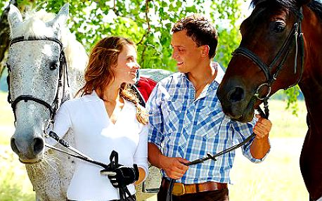 Hodinová jízda na koni jen za 275 Kč!