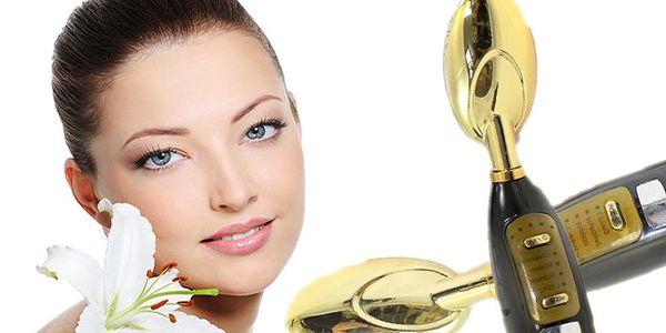 Galvanická žehlička Golden Spoon na detoxikaci, omlazení pokožky a vyhlazení vrásek