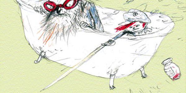 Kniha Doktor Proktor a vana času. Zběsilá jízda časem v zábavném a napínavém příběhu.