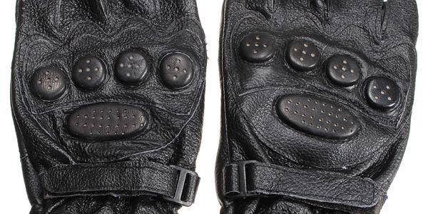 Cyklistické rukavice - kožené a poštovné ZDARMA! - 101