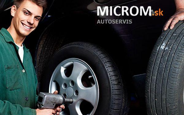 Prezutie pneumatík a vyváženie