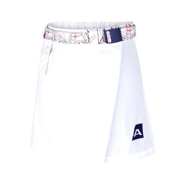 Dámská sukně Alpine Pro bílá M