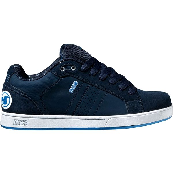 Pánske tmavo modré kožené tenisky DVS